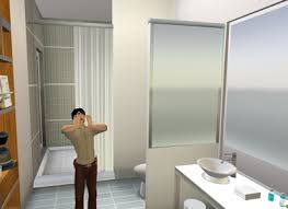 virtual aloft bathroom doors