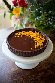 donal skehan chocolate orange tart