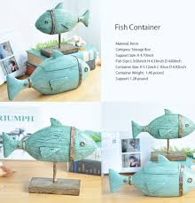 Fish Home Decor Decorative Fish Container Or Decoration Apollobox