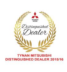 mitsubishi car logo tynan mitsubishi wins mitsubishi distinguished dealer 2016 tynan