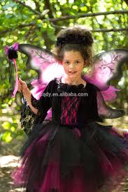 2014 new design little witch costume party dress for halloween
