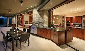indoor outdoor kitchen designs allen construction builds modern indoor outdoor paradise