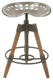 Steampunk Bar Stools Chic Metal Wood Bar Stool Industrial Bar Stools And Counter