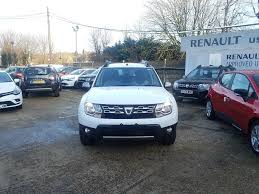 renault dacia sandero nearly new dacia for sale duster 1 2 tce 125 prestige white