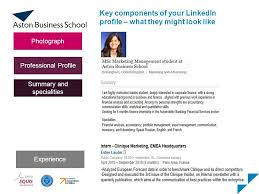 linkedin summary best practices linkedin for career management iwan griffiths msc business careers