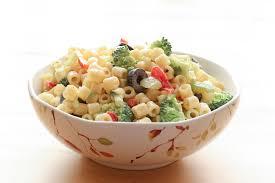 Pasta Salad Recipies by Creamy Pasta Salad