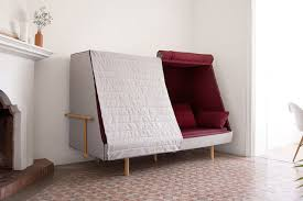 sofa that turns into a bed a sofa that can turns into a bed and a cabin fubiz media