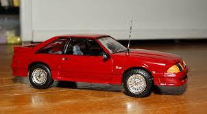 mustang gt model model car 1987 mustang gt 5 0 by orchiko on deviantart