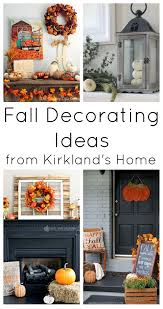fall mantel with kirkland u0027s home the country chic cottage