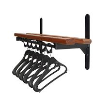 furniture fascinating wall mounted coat rack with shelf with cool