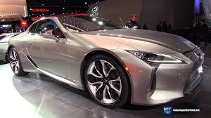 lexus lc 500 auto show 2018 lexus lc 500 exterior and interior walkaround 2017