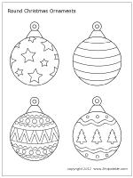 free printable and teardrop shaped tree ornaments