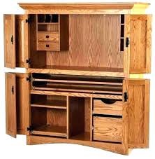 Computer Armoire With Pocket Doors Corner Armoire Desk Large Size Of Corner Furniture With Pocket