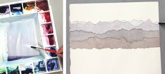 mara mattia art lesson 19 mixing grey watercolor for atmospheric