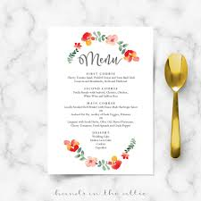 22 catering menu templates free wages slip free rent receipt