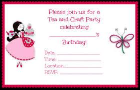 girl birthday ideas great 7 year girl birthday party idea tea and craft party