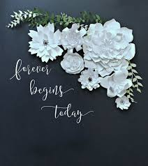 diy wedding backdrop names paper flower backdrop photobooth photo booth by littleretreats