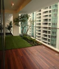 Home Design Apartment Patio Privacy Ideas Contemporary Medium - Apartment patio design