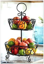 3 tier fruit basket two tier fruit stand 3 tier fruit basket stand australia zle