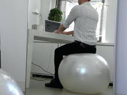 Desk Chair Workout Workout Ball Desk Chair Beginner U0027s Workout