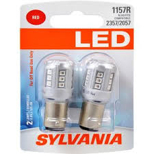 utility trailer light bulbs sylvania led high mount stop light mini bulb 1157rsylled read