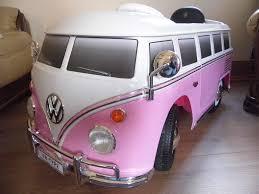 van volkswagen pink electric volkswagen camper van ride on in southend on sea