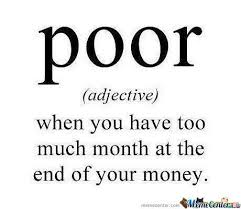 Meme Defintion - the definition of poor by cyberfist meme center
