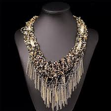 big statement necklace images Luxury big statement necklace 786shop4you jpg