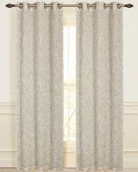 Manhattan Curtains Dainty Home 2 Linen Look Manhattan Grommet Window Panel
