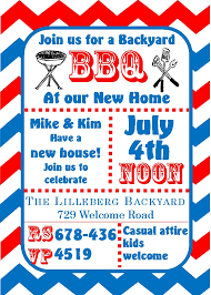 Free Housewarming Invitation Card Template 4th Of July Party And Patriotic Invitations For New Selections 2017