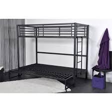 lit mezzanine canapé lit mezzanine en 90 avec banquette mezzapeigne achat vente lit