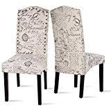 amazon com fabric chairs kitchen u0026 dining room furniture