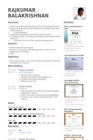 Best Engineering Resumes by Project Engineer Resume Samples Visualcv Resume Samples Database
