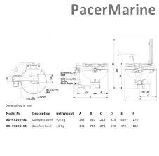 johnson aqua t marine compact toilet boat pacermarine
