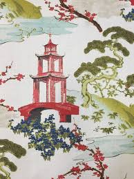 Upholstery Fabric Prints Best 25 Asian Upholstery Fabric Ideas On Pinterest Chinoiserie