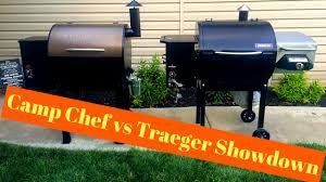 camp chef smokepro dlx pellet grill vs traeger lil tex elite 22