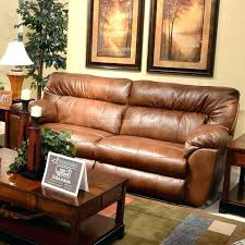 Chestnut Leather Sofa Nolan Dual Reclining Leather Sofa Power Extra Wide Chestnut Front