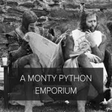 a monty python emporium on spotify