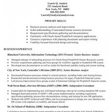 Sample Resume Of Business Analyst by Business Analyst Resume Tips And Samples