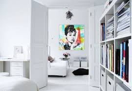 white wall decorating