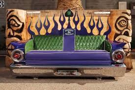 divani famosi crea divani d autore con pezzi di auto d epoca foto 1