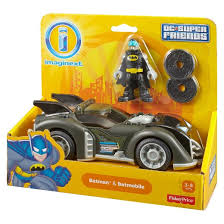 imaginext batmobile with lights fisher price imaginext dc super friends batman and batmobile