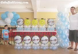 balloon arrangements for graduation graduation theme balloon decoration package at sugbahan cebu