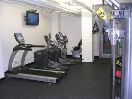 modern luxury white home fitness room design freestanding modern