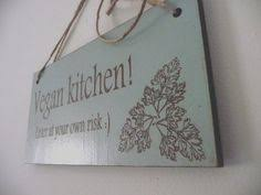 vegan home decor vegan primitive wooden sign i love vegan vegan sign vegetarian