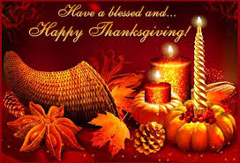 a blessed and happy thanksgiving day
