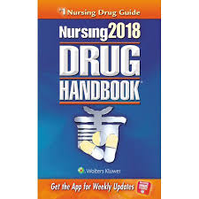 nursing drug handbook 2018 walmart com