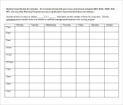 sample weekly agenda weekly agenda bill payment schedule template
