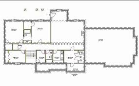 house floor plans with basement home designs walkout basement designs house plans for walkout