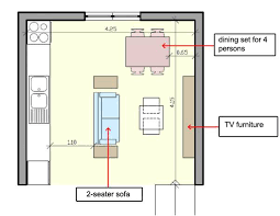 furniture in the kitchen how to arrange furniture in a small open plan kitchen living room